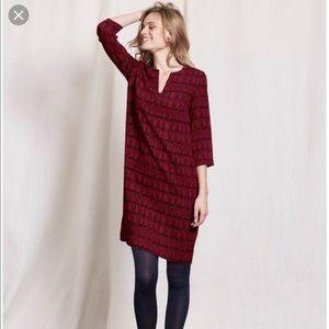 Boden Easy Notch Tunic Dress 8 M